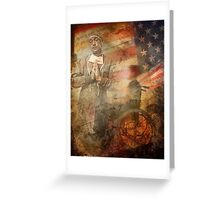 Private Smith's Diary. The Doctor Will See Me Soon.  Greeting Card