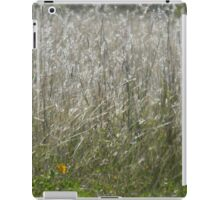 Closeup of Blooming Grass in Sun and Wind - View Larger iPad Case/Skin