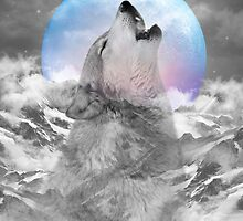 Maybe the Wolf Is In Love with the Moon by soaringanchor