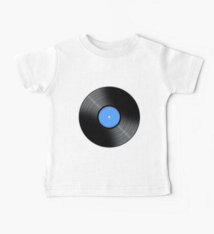 Music Record Baby Tee
