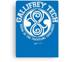 Gallifrey Tech - College Wear 01 Canvas Print