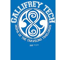 Gallifrey Tech - College Wear 01 Photographic Print