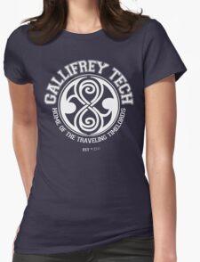 Gallifrey Tech - College Wear 01 Womens Fitted T-Shirt