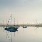 Misty Morning, Swan Bay Queenscliff by Joe Mortelliti