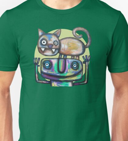 Juggler with Cat Unisex T-Shirt