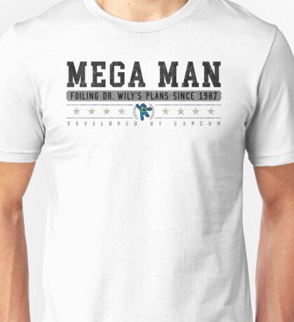 Mega Man - Vintage - White Unisex T-Shirt