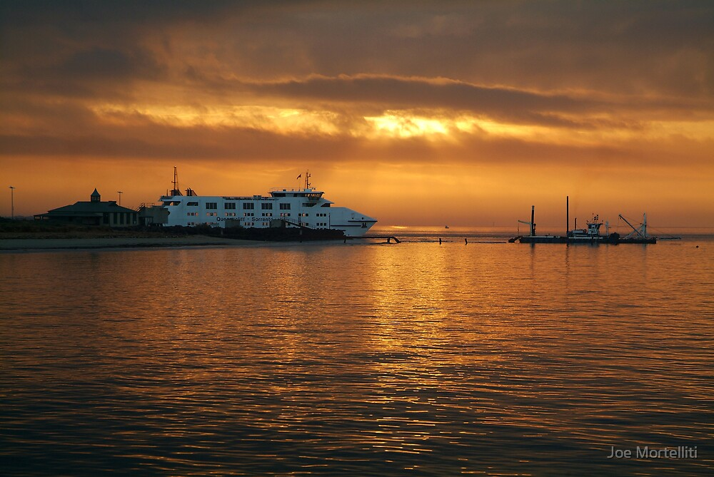Ferry Service, Queenscliff to Sorrento by Joe Mortelliti