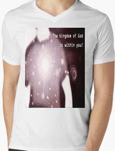 Kingdom Mens V-Neck T-Shirt