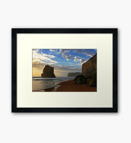 Gibsons Beach Framed Print
