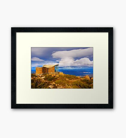 Mount Wellington Framed Print