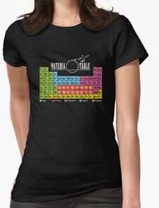 Materia Table Womens Fitted T-Shirt