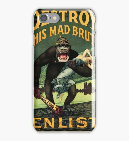 Enlist WWII iPhone Case/Skin