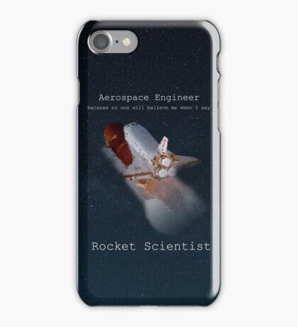 Rocket Scientist iPhone Case/Skin