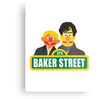 221B Baker Street - Sherlock Metal Print
