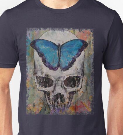Butterfly Skull Unisex T-Shirt