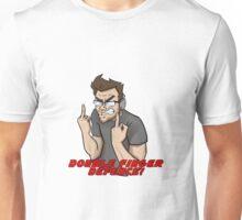DOUBLE FINGER DEFENCE - Markiplier Unisex T-Shirt