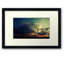 perpetual dawn Framed Print