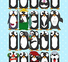 Here Be Penguins by rickystiles