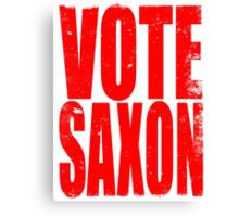 VOTE SAXON (the Master) Canvas Print