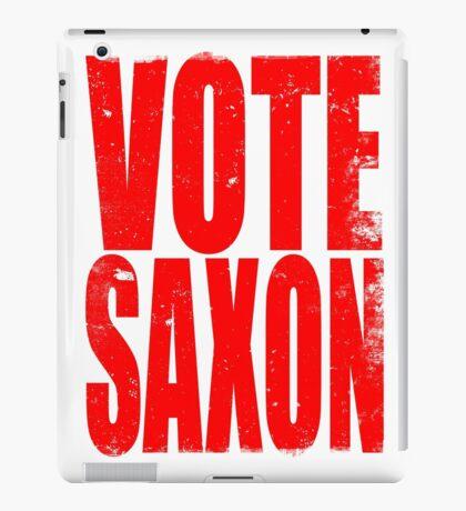 VOTE SAXON (the Master) iPad Case/Skin