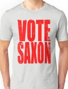 VOTE SAXON (the Master) Unisex T-Shirt