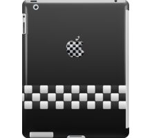 Finish [Black + Apple Logo] iPad Case/Skin