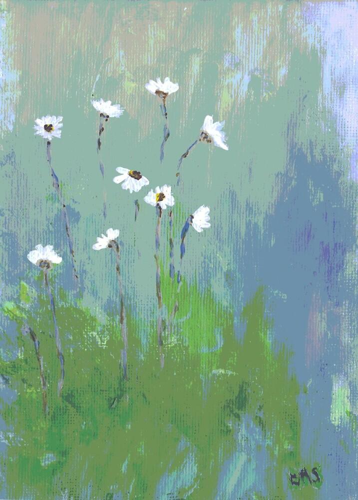 Daisies by azcactusd