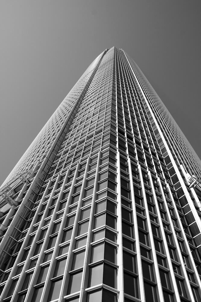 Looking Up v1 - IFC2, Hong Kong by Jonathan Russell
