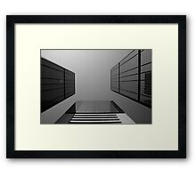 Looking Up v2 - Wan Chai, Hong Kong Framed Print