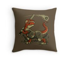 Fight The Asteroid Throw Pillow
