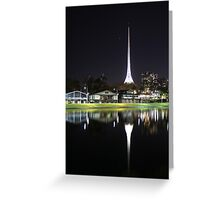 Arts Centre Spire Greeting Card