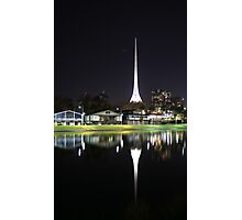 Arts Centre Spire Photographic Print