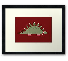 Christmasaurus Framed Print