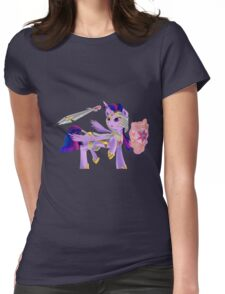 Warrior Princess Twilight Sparkle Womens Fitted T-Shirt