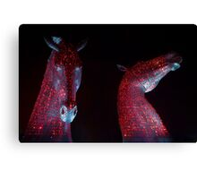 Red Kelpies (2014) Canvas Print