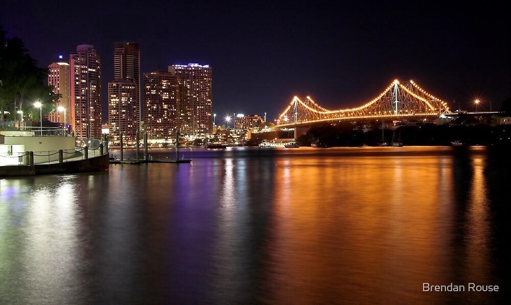 Story Bridge & Brisbane City - Queensland, Australia by Brendan Rouse