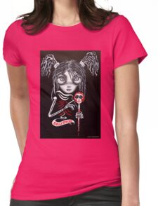 Penny Pigtail Womens Fitted T-Shirt