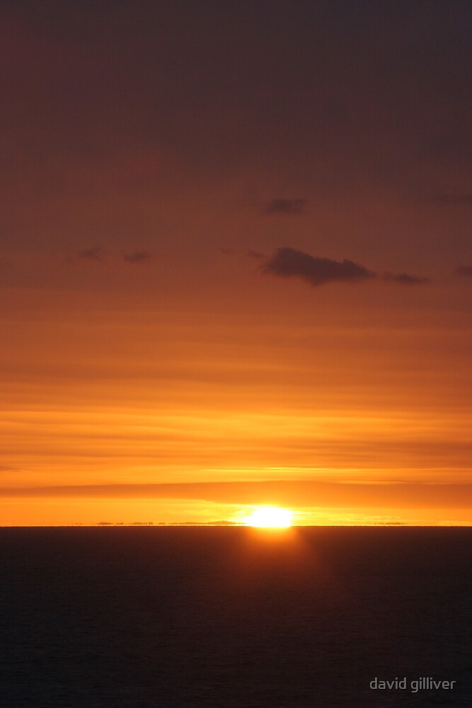 sunset by david gilliver