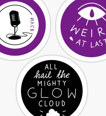 WTNV sticker set  Sticker