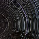 Star trails by David James