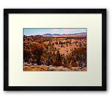 Beautiful Hills Framed Print