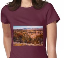 Beautiful Hills Womens Fitted T-Shirt