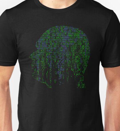 Binary Data Brain - real big data Unisex T-Shirt