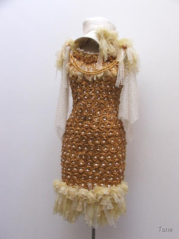condom dress by Tane