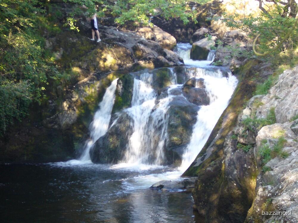 River Doe waterfalls by bazzanoid