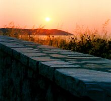 Greek Sunset by Malin Nordlund