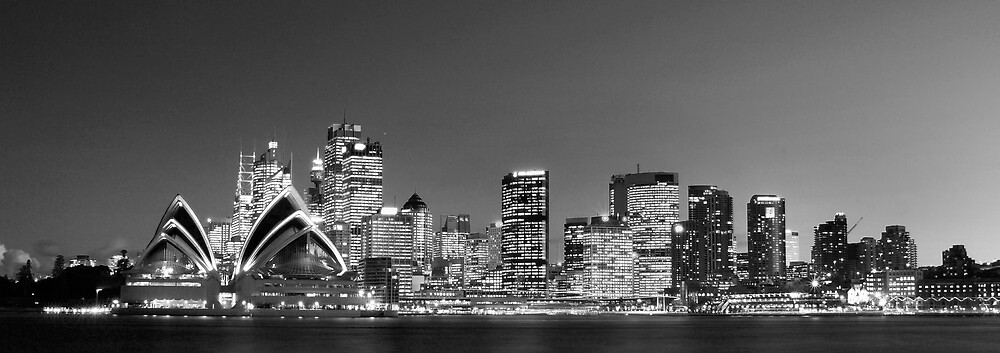 Sydney Skyline by Alex Lau