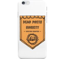 Society Crest (Tiger) iPhone Case/Skin