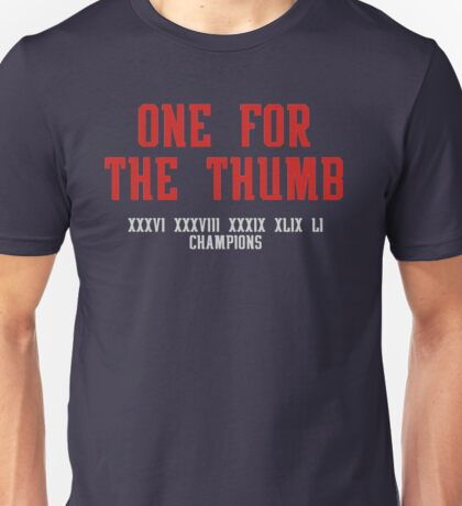 One for the Thumb Unisex T-Shirt