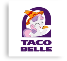 Taco Belle  Canvas Print
